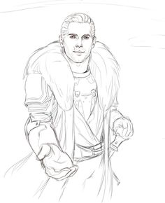 Cullen WIP by FalseSecurity on DeviantArt