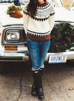 J Crew Fair Isle Sweater
