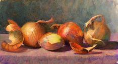 "Susan Ellis on Instagram: ""Good day 2 stay in & paint onions #pasteldrawing #pastelpainting"" Pastel Drawing, Vegetables, Good Day, Onions, Painting, Instagram, Art, Buen Dia, Art Background"