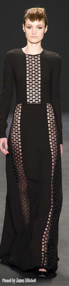Carmen Marc Valvo Collection Fall 2014