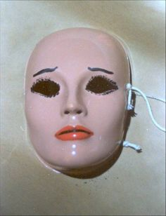 The mask of notorious Serial Killer B.T.K. Dennis Rader. This was his own personal mask he used to enjoy wearing when he would bind himself up. Eventually, he left it at one of his crime scenes. He would later say that he regretted doing so, and missed his mask.