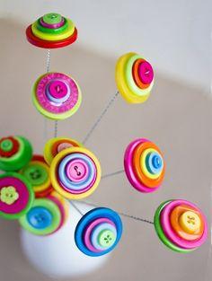 25 Best Button Crafts Ideas | PicturesCrafts.com