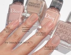 I have an obsession with neutral pink nudes for nails. I love the clean polished natural look of colors that have a mix of pink with nude/beige/mauve/rose. My current favorites range from semi-sheer to full…