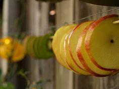 Handmade Christmas Ornaments :: Dried Apples and Cinnamon