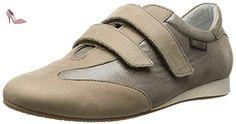 Mephisto, BEA empereur camel, Femme Taupe bi-matière UK4 - Chaussures mephisto (*Partner-Link)