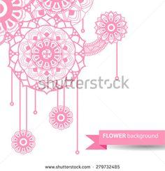 Henna Background Stock Vectors & Vector Clip Art   Shutterstock