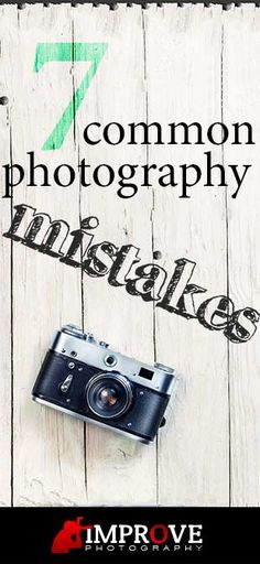 9 Common Photography Mistakes to Avoid.   Enjoyed this article--worth the read if you like photography tips.