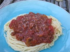 Mamas Spaghetti With Meat Sauce Recipe - Food.com