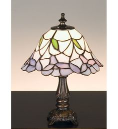 11.5 Inch H Daffodil Bell Mini Lamp Table Lamps