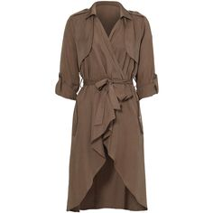 Lovers Friends Brown Morning View Jacket ($210) ❤ liked on Polyvore featuring outerwear, jackets and brown jacket