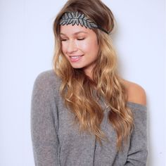 Broadway Headband #hairbands #lovetassel Every TASSEL Headband is carefully crafted using delicate seed beads, rhinestone chains and jewels, all strung and set using a tambour technique that is completely done by hand. Each band is backed with genuine leather and has an adjustable strap that is finished with a signature TASSEL charm.