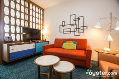 The Tower Family Suite at the Universal's Cabana Bay Beach Resort