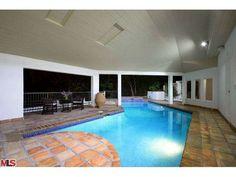 Indoor Outdoor Pool At Night At The Westgate Park City Resort Spa Utah Utah Winter