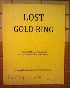 #lotr #sauron #ring