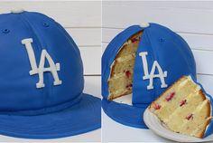 Baseball Cap Cake/Baseballkappen-Motivtorte