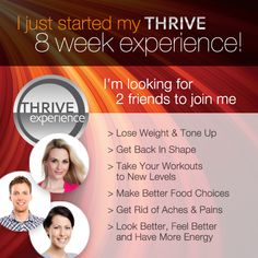 The Le-Vel THRIVE Experience is an 8 week premium lifestyle plan, to help you reach peak physical and mental levels. Start Thriving with THRIVE by Le-Vel! Stress Management, Weight Management, 1001 Palettes, Thrive Le Vel, Getting More Energy, Thrive Life, Level Thrive, Thrive Energy, Thrive Experience