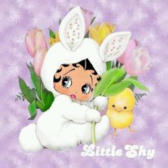 EASTER BABY...BETTY BOOP