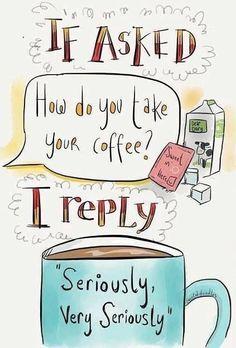 Truly, Assam Tea with milk~ Chai! Coffee Talk, I Love Coffee, Coffee Break, Morning Coffee, Coffee Cups, Coffee Coffee, Funny Coffee, Black Coffee, Coffee Life
