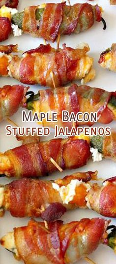 Maple Bacon Stuffed
