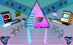 vaporwave & aesthetic 90's visual ( copyright me)