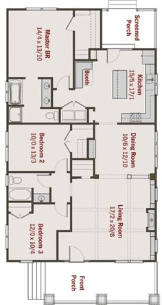 Bungalow Floorplan