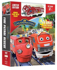 "#GIVEAWAY: Win the DVD ""Chuggington: Fire Patrol Rescue + Train"" (Ends 4/17)"