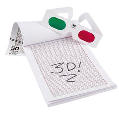 3D Drawing Pad - Special Edition with 3D Glasses only $6.99