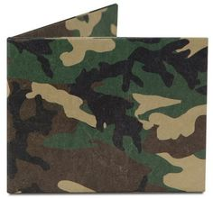 Camo Mighty Wallet DY-601 * Tyvek Dynomighty Recyclable Origami -- For more information, visit image link.