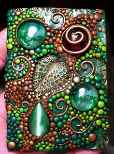 *POLYMER CLAY ~ ACEO Deep Forest polymer clay by MandarinMoon on DeviantArt