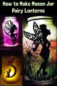 These mason jar fairy lanterns are perfect for your bedroom, living room, and garden!