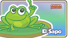 El Sapo - Gallina Pintadita 1 - Oficial - Canciones infantiles para niños y bebés - YouTube