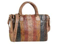 Billy The Kid BILLY - Leder Shopper Handtasche Damentasche - multicolour
