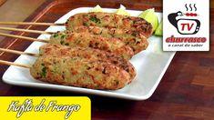 Receita de Kafta de Frango - Tv Churrasco