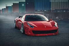 automotivated:   Ferrari 458 LibertyWalk by Marcel Lech    Via Flickr: Follow me on INSTAGRAM & FACEBOOK! Website Portfolio