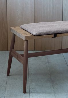 The Imo bench seats 3. Upholstered pad with leather fasteners optional.                                                                                                                                                                                 More