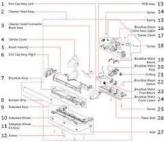 50+ best dyson dc25 parts list and diagram images | dyson, upright vacuums,  dyson vacuums  pinterest