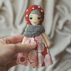 Cute mini doll.
