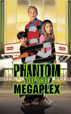 Phantom of the Megaplex. My favorite Disney Channel Original movie- Tried so hard to remember the name! Childhood Movies, 90s Movies, My Childhood Memories, Disney Movies, Good Movies, Movie Tv, Awesome Movies, Movie List, Old Disney Channel Movies