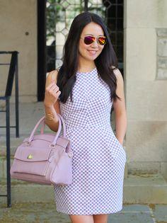 Jordana Paige Handbag in Lavender, spring handbag