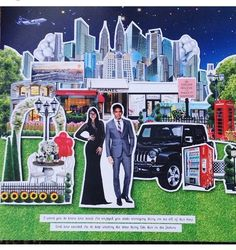 This is incredible! Unique work by  Jakartapopupcard http://www.bridestory.com/jakartapopupcard/projects/jakartapopupcard