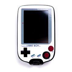 FreestyleSticker.de • #Freestyle #Libre #Abbott #Diabetes #sugar #fmg #cmg #skin #nintendo #nerd #Gameboy #libreboy #Sticker #Freestylesticker