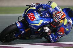 MotoGP. SUZUKI ECSTAR и Виньялес стартуют с первого ряда в Катаре.   GP RACING