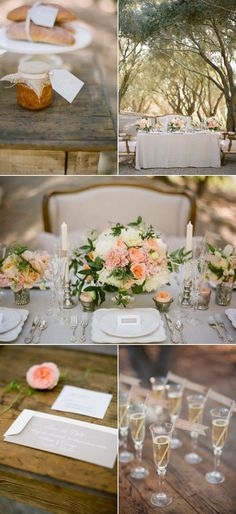 some shots of table settings but no need to get too many - just more for a record of it