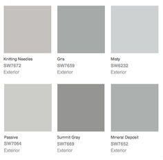 nimbus gray | benjamin moore these are my living room colors
