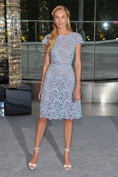 Candice Swanepoel Valentino Dress