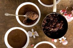 Chocolate mousse with muscat and orange oil recipe, Viva – visit Eat Well for New Zealand recipes using local ingredients - Eat Well (formerly Bite) Muscat, Home Baking, Orange Oil, Puddings, Eating Well, Christmas Time, Mousse, Good Food, Treats