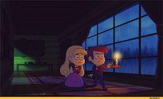 Gravity Falls,фэндомы,GF Персонажи,GF Гифки,GF gif, GF Гиф,Dipper Pines,Pacifica Northwest