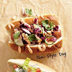*Thai-Style Dogs | MyRecipes.com
