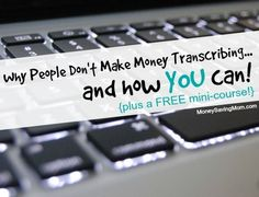 Guest post from Janet Shaughnessy Working from home as a general transcriptionist can be a lucrative and rewarding career. However, it has somehow managed to get a reputation for being an easy way to make money from home. Except it's …