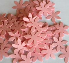 Flower Confetti for Weddings Showers by welldressedcupcakes, $3.20